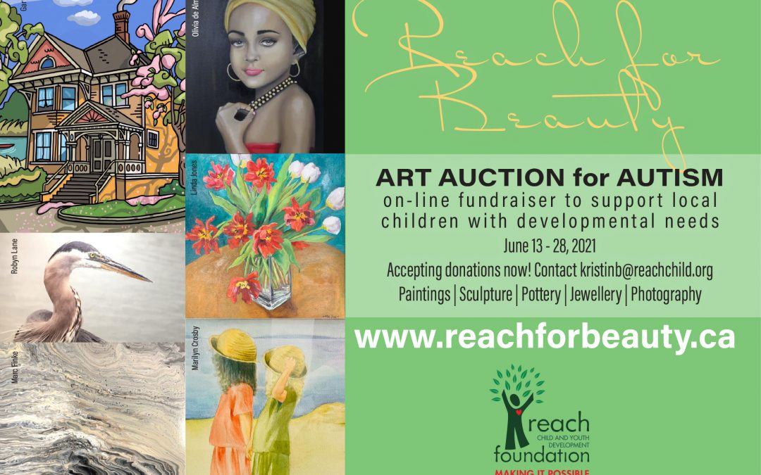 Reach for Beauty 2021 – Art Auction for Autism